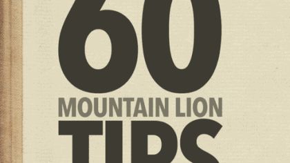 Super Mac Team Up: David Sparks and Brett Terpstra Deliver 60 Mountain Lion Tips