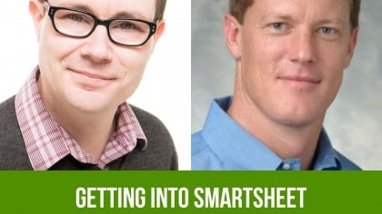 The Productivityist Podcast 56: Getting Into Smartsheet with Brent Frei