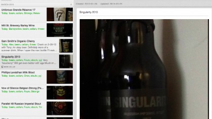 How I Use Evernote for Beer Cellaring