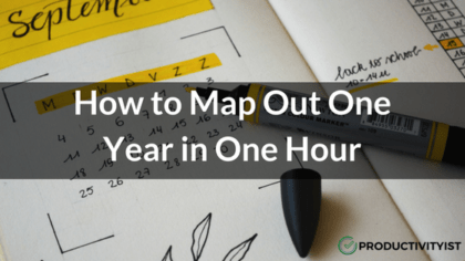 How to Map Out One Year in One Hour