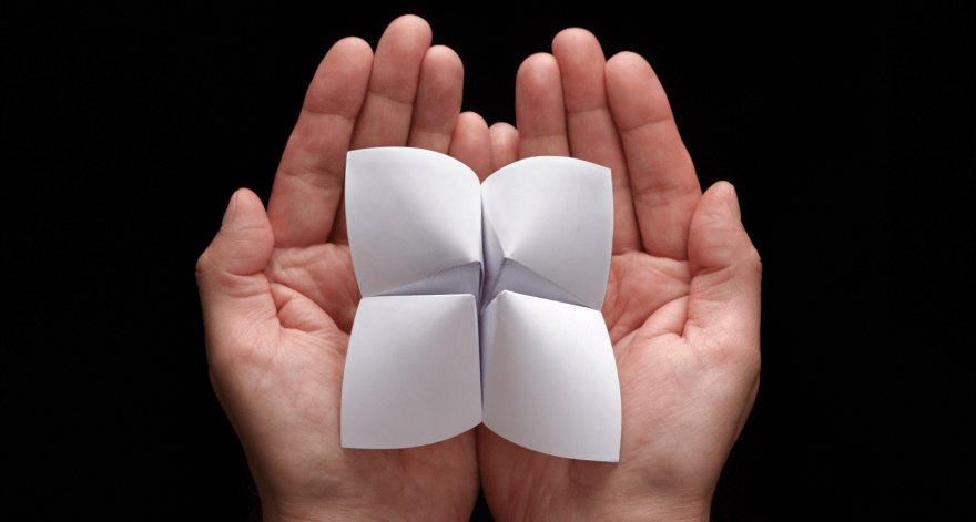 How I Use A Paper Fortune Teller To Decide My Next Project