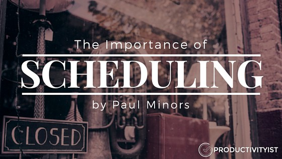 schedule importance Time management is another key  these are main tools used for time management: schedule  prioritizing forces you to weigh the importance of each.