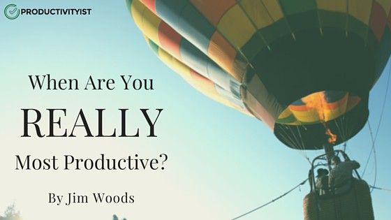 When Are YouMost Productive-