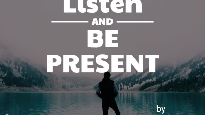 "Listen and Be Present: An Excerpt from ""Guidelines"""